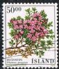 Iceland SG718 1988 Flowers 50k good/fine used